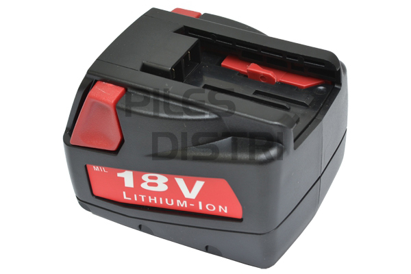 Batterie compatible Milwaukee 18V 2.0Ah Li-ion