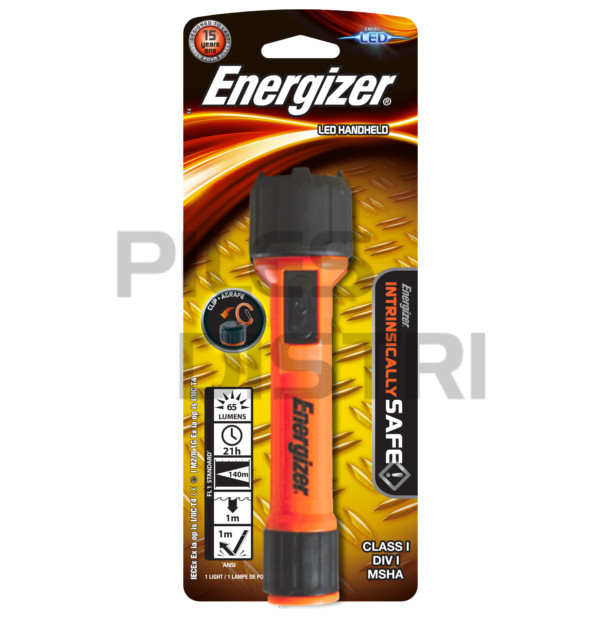 Torche antidéflagrante LED ATEX zone 0 Energizer